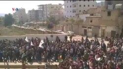 Meşa Piştgirîya Kobanê li Efrînê