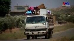Dera'daki Çatışmalar Nedeniyle Binlerce Kişi Evlerini Terketti