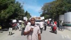Ayiti: Manifestasyon nan Fòlibète pou Mande Reouvèto Dwann nan