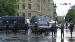 پیرس: پولیس اہلکار پر ہتھوڑے سے حملہ