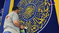 Süleymaniye'de Kaligrafi Sanatı Yaşatılıyor
