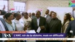 L'ANC, sûr de la victoire, mais en difficulté