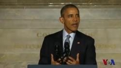 奥巴马出席新公民入籍仪式赞扬移民贡献