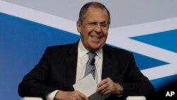 Rossiya Tashqi ishlar vaziri Sergey Lavrov, Rim, Italiya, 2019-yil, 6-dekabr