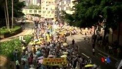 2015-07-01 美國之音視頻新聞:香港主權移交紀念日舉行民主大遊行