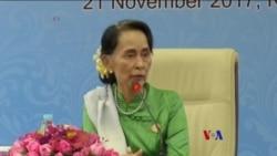 2017-11-21 美國之音視頻新聞: 昂山素姬希望與孟加拉達成羅興亞問題協定 (粵語 )