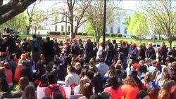 美國高中生抗議要求更嚴格控槍法律