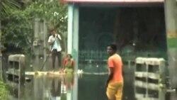 印度東南部水災 27人死亡