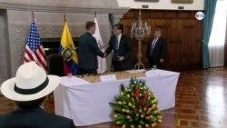 Usaid y Ecuador firman memorándum de entendimiento