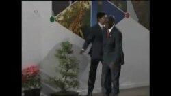 Ividiyo etshengisa uMongameli Mugabe ephos'ukutshayeka phansi ngesiphundu