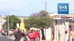 Émeutes dans un township du Cap pour demander de l'aide alimentaire