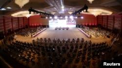 Pembicaraan damai di Doha, Qatar (foto: dok).