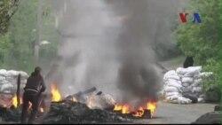 Phe nổi dậy thân Nga bắn rơi 2 máy bay trực thăng Ukraine