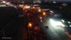 «Հայաստան» դաշինքի նախաձեռնած երթը դեպի Եռաբլուր՝ ի հիշատակ 44-օրյա պատերազմի նահատակների