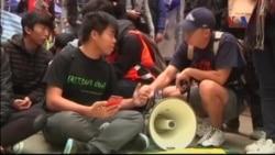 Cảnh sát giải tỏa địa điểm biểu tình cuối ở Hồng Kông