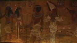 اتاق مخفی در راهروهای مقبره فرعون مصر