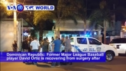 VOA60 World - Ex-Boston Slugger David Ortiz Shot at Dominican Republic Bar