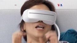 Masaje ocular electrónico