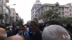 فیلم ارسالی شما: کارگران معترض خواستار استعفای وزیر کار شدند