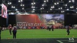 Super Bowl Party Kicks Off in Houston, Texas