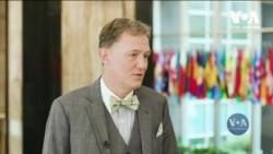 Джордж Кент наприкінці тижня прибуде до Києва і виконуватиме обов'язки тимчасового повіреного у справах США в Україні до кінця липня. Відео