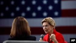 Demokratska predsjednička kandidatkinja Elizabeth Warren
