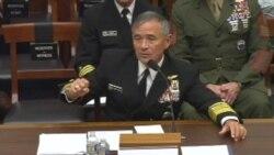 哈里斯上将称可能不得不削减联合军演原声视频(美国国会视频)
