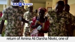 "VOA60 Africa - Rescued 'Chibok Girl"" meets Nigerian President Buhari"