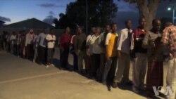 索马里首都治安改善 夜场篮球赛悄然回归