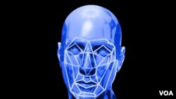 La imagen muestra un rostro humano con las líneas que se usan para encontrar un individuo entre los millones almamcenados en las bases de datos públicas y privadas. [Archivo]