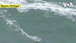 Lướt sóng 'khủng' ở Bồ Đào Nha
