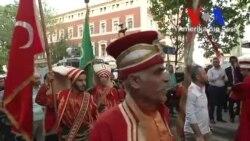 İstanbul'daki Alman Konsolosluğu Önünde Protesto Gösterileri