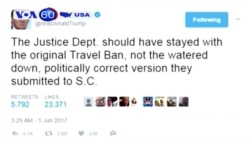 Ông Trump muốn cấm du hành nghiêm ngặt hơn