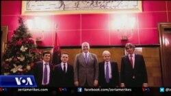 Partitë shqiptare dhe qeveria e re në Maqedoni