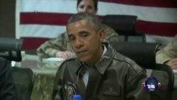 奥巴马结束对阿富汗出人意料的访问