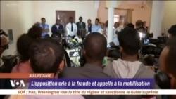 L'opposition crie à la fraude et appelle à la mobilisation
