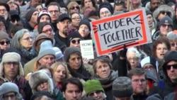 美国文学界人士纽约集会,捍卫言论自由