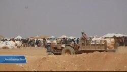 Suriye-Ürdün Sınırında 75 Bin Mülteci Yaşam Mücadelesi Veriyor