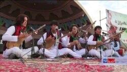جشنواره دمبوره در بامیان