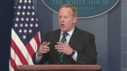 Spicer Denies Existence of Draft Order on Interrogation