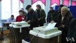 普京巨大优势赢得俄总统选举
