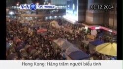 Người biểu tình Hong Kong xô xát với cảnh sát (VOA60)