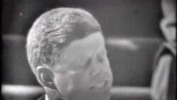 美国下半旗纪念肯尼迪总统遇刺五十周年