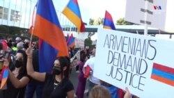 Լոս Անջելեսի հայ համայնքը շարունակում է բողոքի ցույցերը