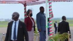 La présidente d'Éthiopie visite une usine de fertilisants à Bujumbura