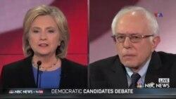 ABŞ prezidentliyinə Demokrat namizədlərin dördüncü debatı keçirilib