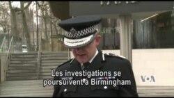 Suite de l'enquête sur l'attentat de Londres (vidéo)
