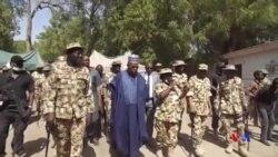 BIDIYO: Gwamnan Borno da Sojoji Sun Kai Ziyarar Gani da Ido Garin Bama