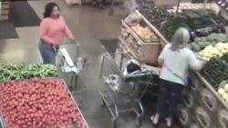 Ăn cắp ví ở siêu thị Mỹ