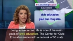 Anh ngữ đặc biệt: Civic Education Program and Politics (VOA)